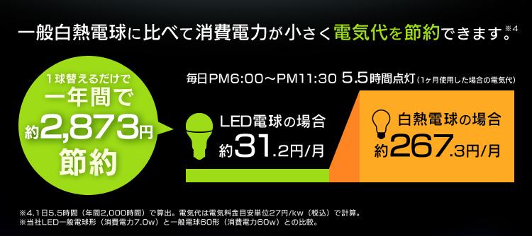 アイリスオーヤマ LED電球