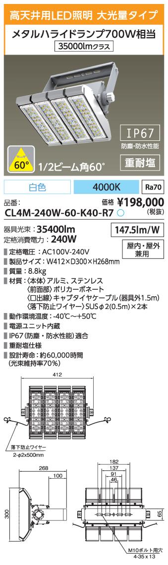CL4M-240W-60-K40-R7