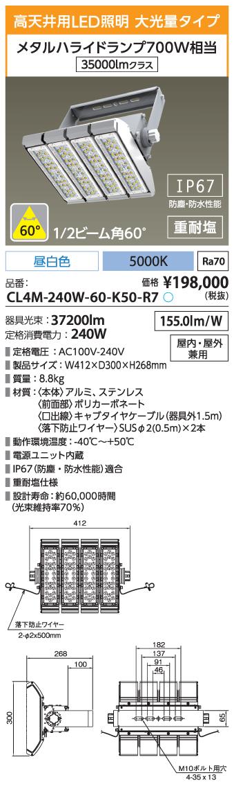 CL4M-240W-60-K50-R7