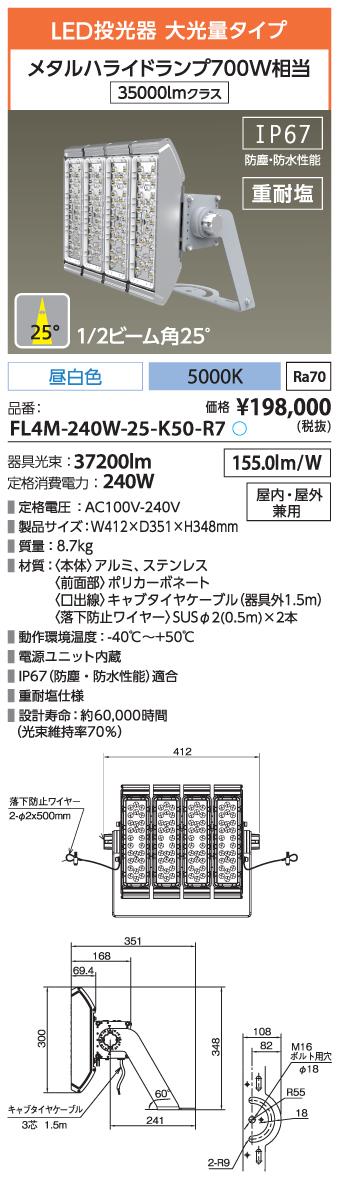 FL4M-240W-25-K50-R7