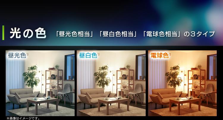 アイリスオーヤマ 一般電球型LEDランプ全方向