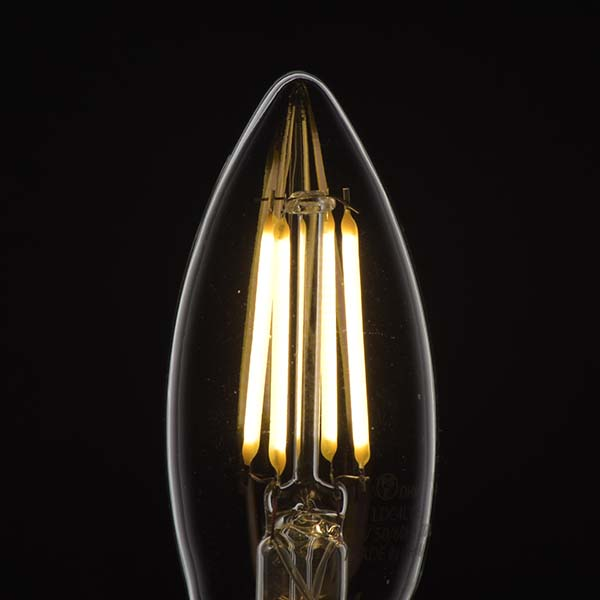 オーム電機 LEDフィラメントタイプ電球 調光タイプ