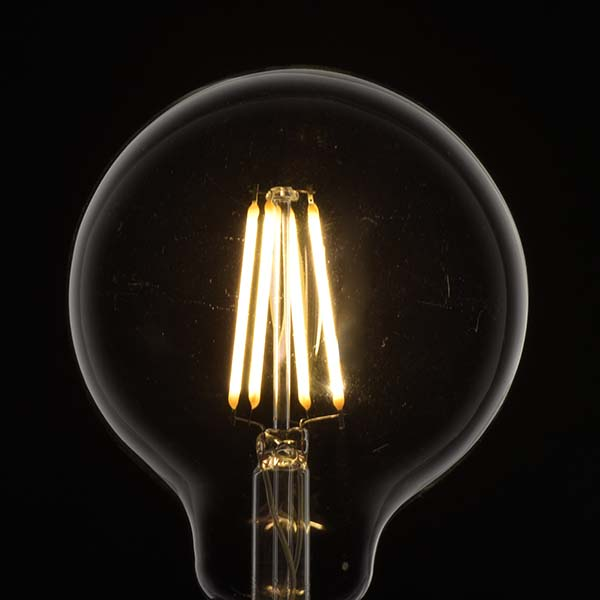 LEDフィラメントタイプ電球 ボール球形