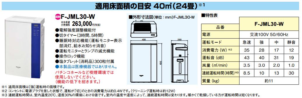 Panasonic 次亜塩素酸空間清浄機 (ジアイーノ)