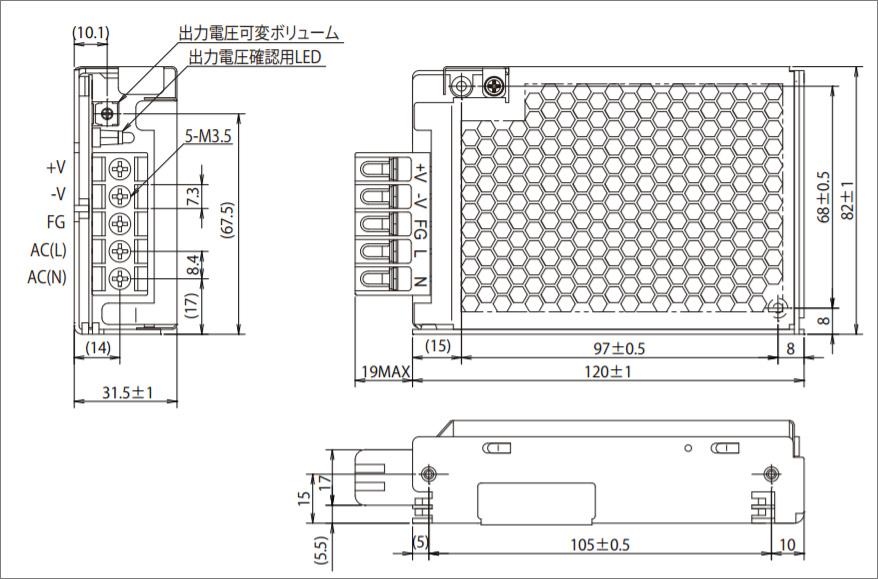 TDKラムダ(TDK-Lambda)スイッチング電源装置