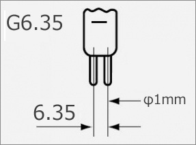 旭光電機 ピンタイプハロゲンランプ