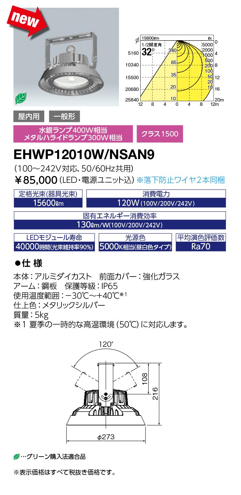EHWP12010W/NSAN9