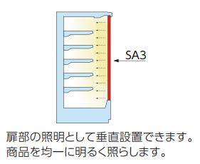 冷ケース照明(SA シリーズ)