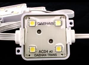 大韓トランス AC100V専用 4球LEDモジュール特集