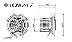 【岩崎電機】レディオック リニューアルLEDユニット