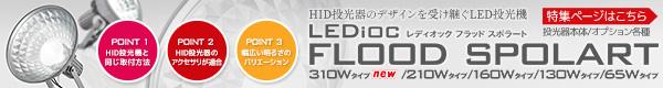 【岩崎電機】サインボード用投光器 レディオック フラッド スポラート 特集ページはこちら