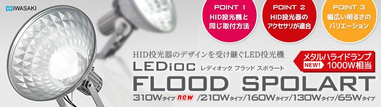 【岩崎電機】サインボード用投光器 レディオック フラッド スポラート