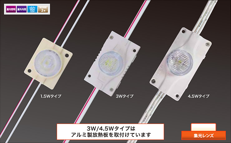SL-12V HPL 1.5W/3W/4.5W
