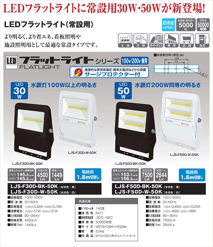 日動工業 LEDフラットライト
