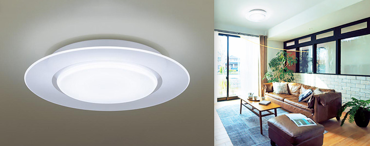 導光クリアパネルタイプ LEDシーリングライト (調光・調色タイプ)