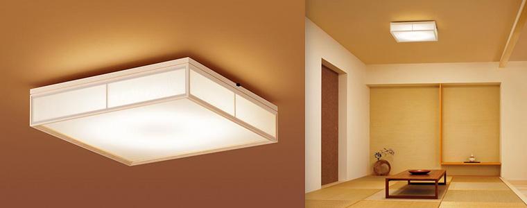 和風タイプ LEDシーリングライト (調光・調色タイプ)