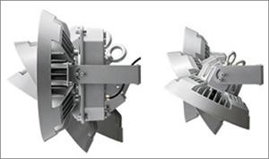 LEDioc HIGH-BAY θDALI対応形の壁取り付け