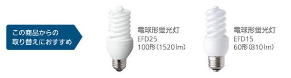 パナソニック T形タイプ LED電球への代替おすすめ