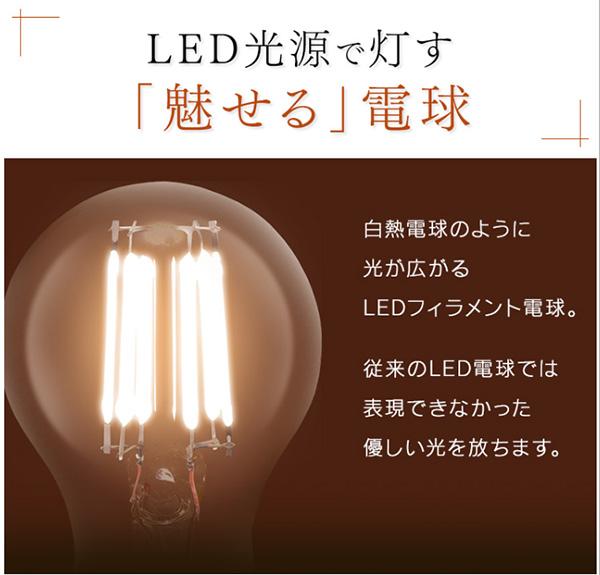 アイリスオーヤマ フィラメント型LED電球 ミニボール電球タイプ LEDランプ