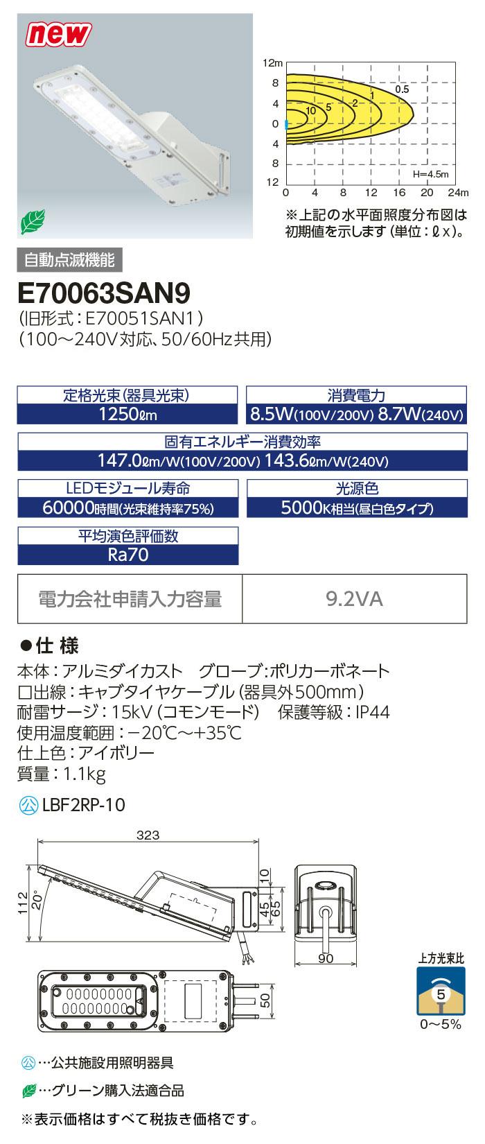 E70063SAN9