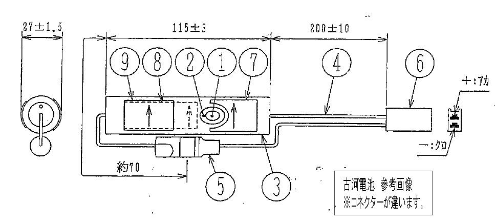 古河電池 バッテリー