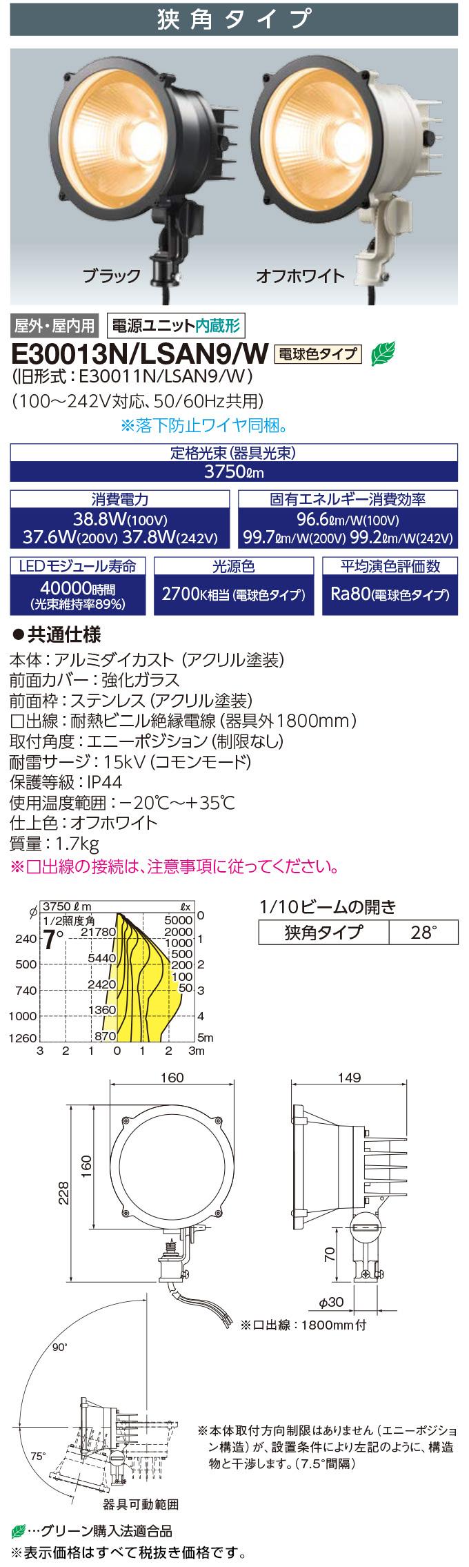 E30013N/LSAN9/W  +  F13M/W