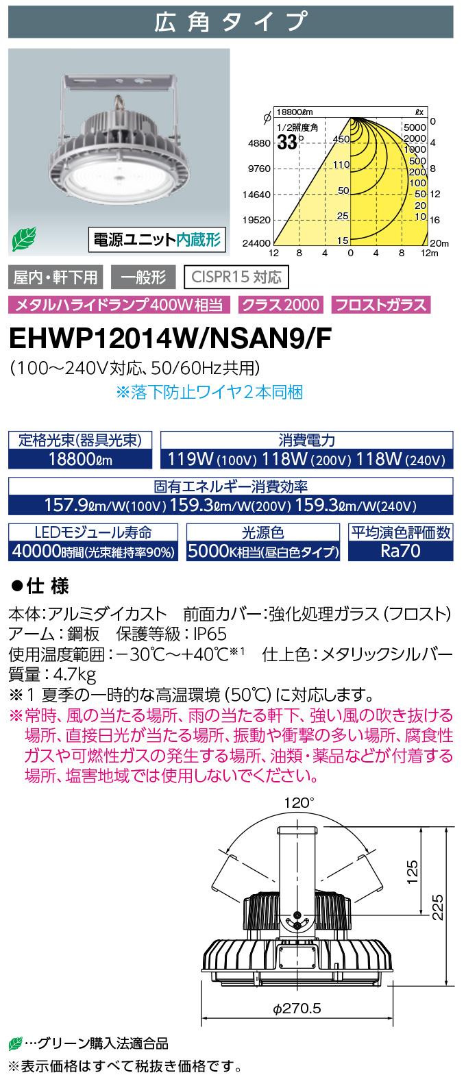 EHWP12014W/NSAN9/F