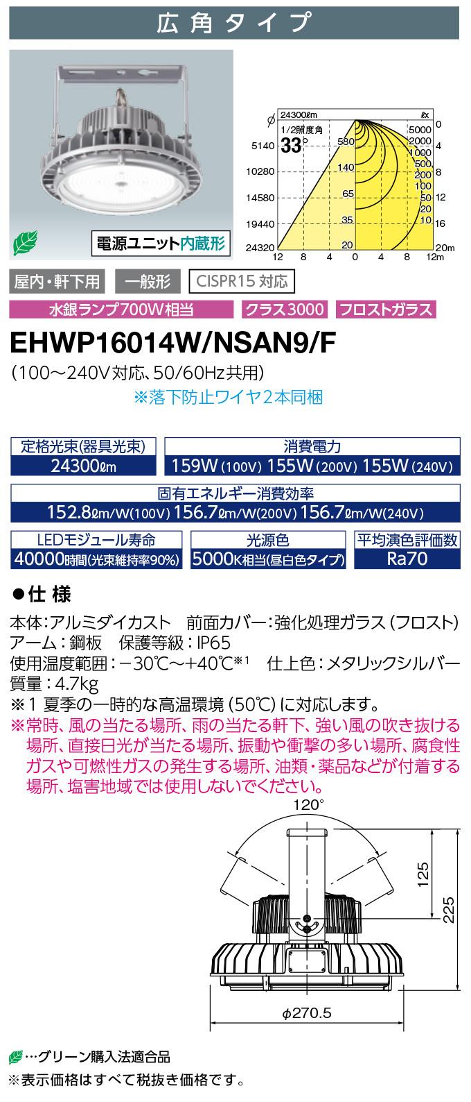 EHWP16014W/NSAN9/F
