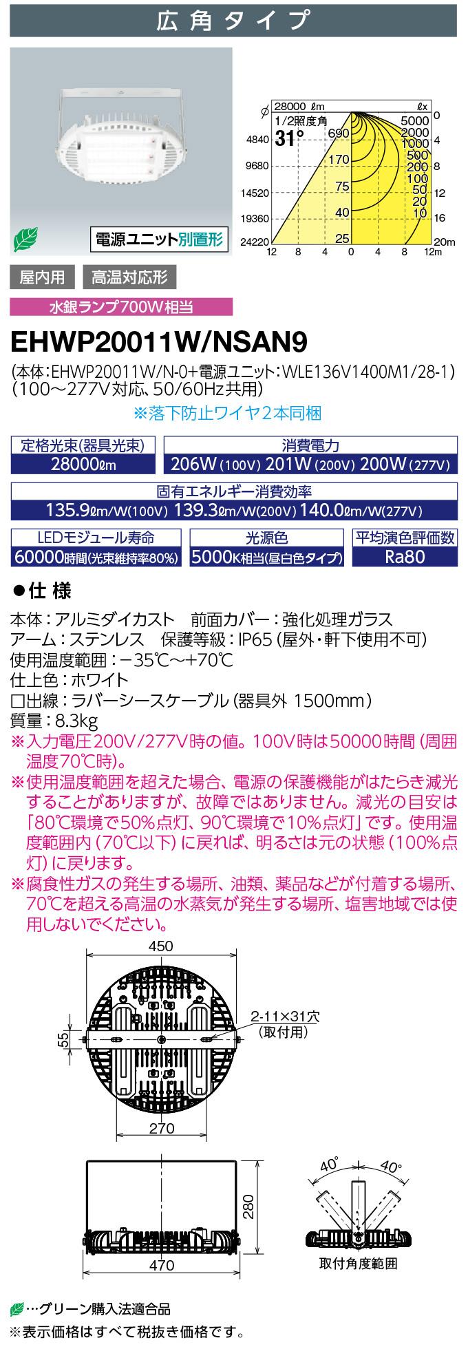 EHWP20011W/NSAN9