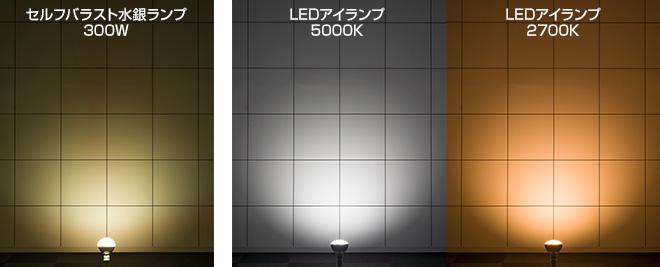 商品イメージ・光色・寸法図
