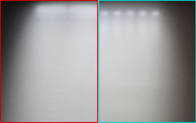 岩崎電気 LED投光器 レディオックカトラス LEDioc CUTLASS 映り込み