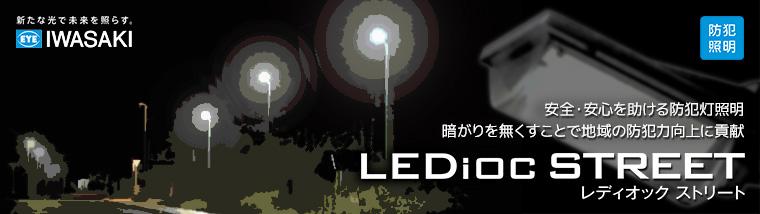 岩崎電気 LED防犯灯 【 レディオック ストリート 】