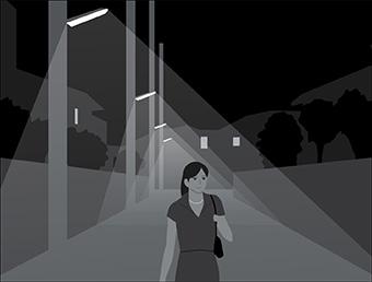 防犯灯の設置には推奨基準があります。